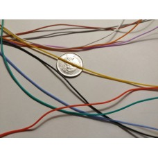 Thin Silicone Wire - 30 AWG Assorted Colors