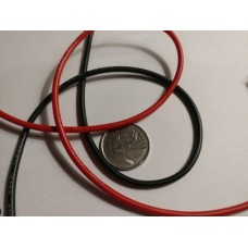 Silicone Wire - 16 AWG Red or Black