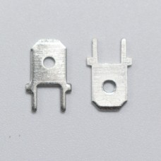 PCB mount  6.3mm terminal - Male