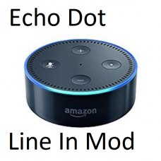 Echo Dot Alexa with line in/out