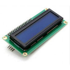 16x2 Blue I2C LCD Display - Compatible with director plus